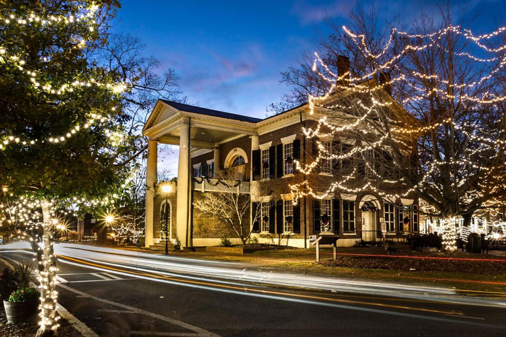 Christmas in Dahlonega, GA